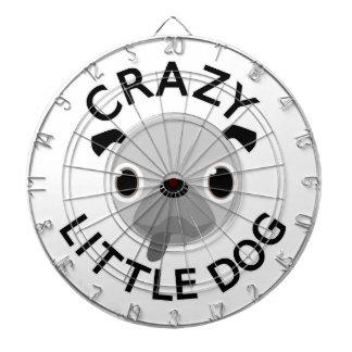 Pug Crazy Little Dog Dartboard