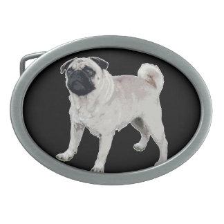 Pug cutie belt buckle