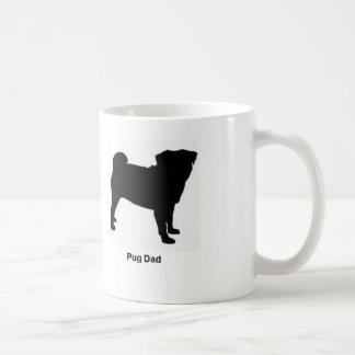 Pug Dad coffee mug