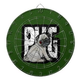 Pug Dartboard