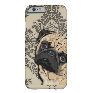 Pug Dog Abstract Pet Pattern Barely There iPhone 6 Case