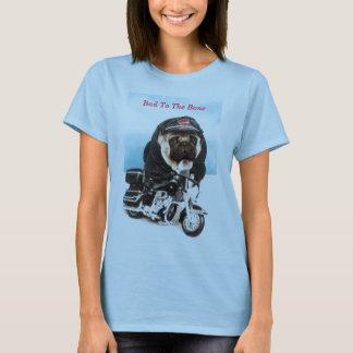 Pug Dog Biker T Shirt