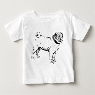 Pug Dog Breed Baby T-Shirt