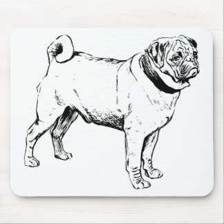 Pug Dog Breed Mouse Pad
