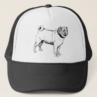 Pug Dog Breed Trucker Hat