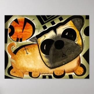 Pug Dog dk_2005aug8o Poster