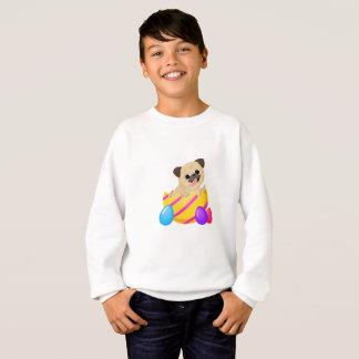Pug Dog Egg Easter Funny Gift Love Dog Sweatshirt