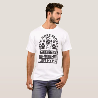 Pug Dog Lovers T-Shirt