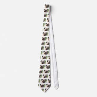 Pug Dog Men's Necktie