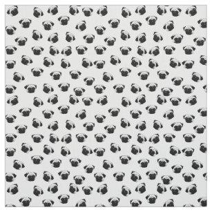 34022dd11b4 Pug dog pattern fabric