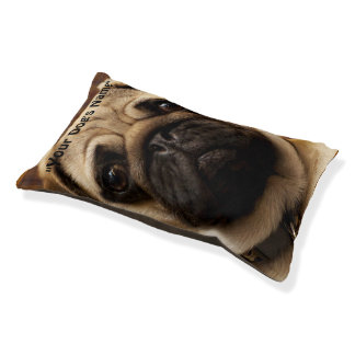 Pug Dog Pet Pillow Bed Small Dog Bed