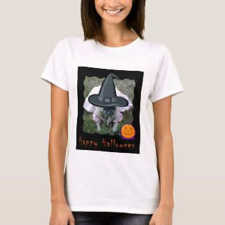 Pug Dog Princess Witch Halloween Shirt
