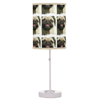 Pug Dog Table Lamp