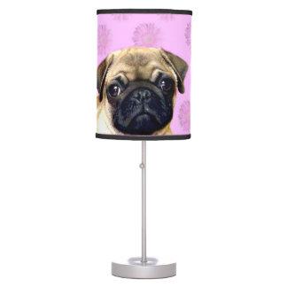 Pug Dog Table Lamps