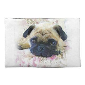 Pug Dog Travel Accessory Bags