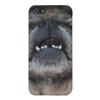 Pug Dog With Mouth Opened Speck Case
