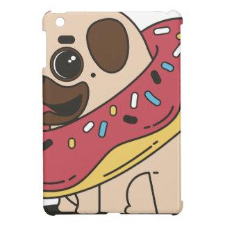 Pug Donut Sweets Tasty Bun Cupcake iPad Mini Cover