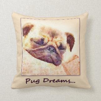 Pug Dreams Cushion