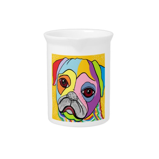 PUG DRINK PITCHERS