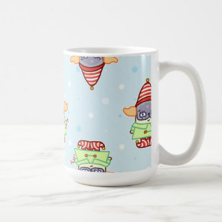 Pug Elf Christmas Drinkware Coffee Mug