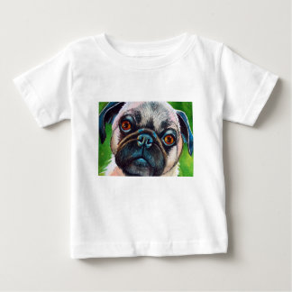 Pug Face Close up Baby T-Shirt