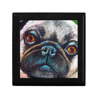 Pug Face Close up Gift Box