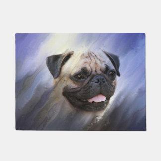 Pug face doormat