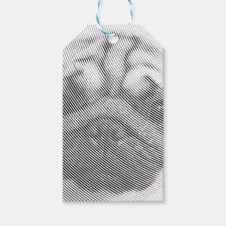 Pug Face Gift Tags