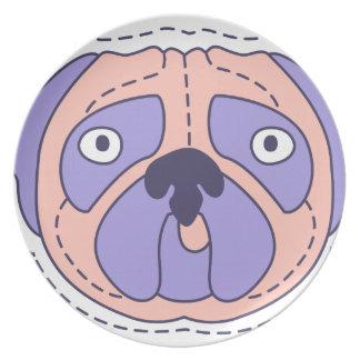 Pug Face Plate