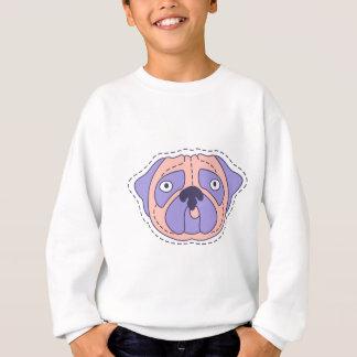 Pug Face Sweatshirt