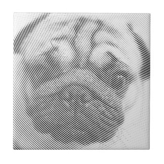 Pug Face Tile