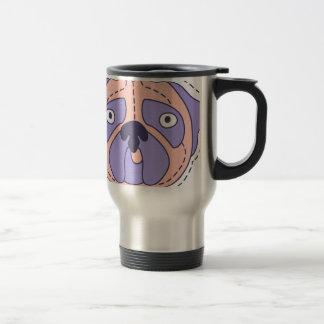 Pug Face Travel Mug
