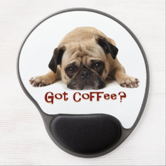 Pug Gel Mousepad