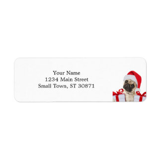 Pug gifts - dog claus - funny pugs - funny dogs