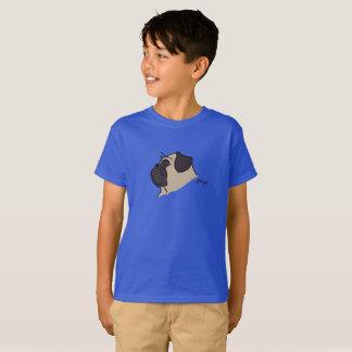 Pug head silhouette T-Shirt