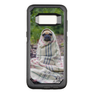 Pug in a Blanket OtterBox Commuter Samsung Galaxy S8 Case
