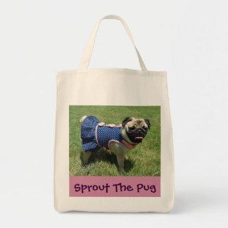 Pug In A Dress Tote Bag