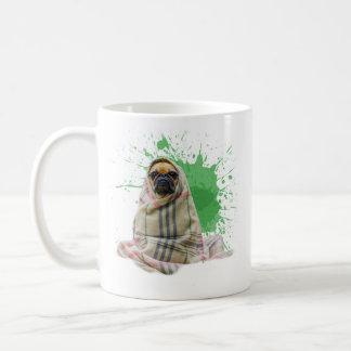 Pug in a Rug on a Mug