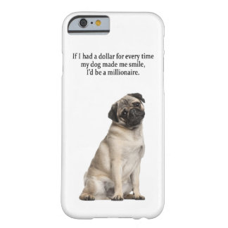 Pug iPhone 6 case Barely There iPhone 6 Case