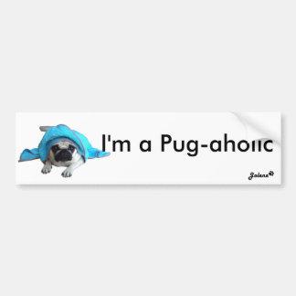 Pug Jolene Bumper Sticker