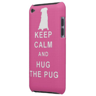 PUG KEEP CALM HUG THE PUG IPOD CASE BIRTHDA