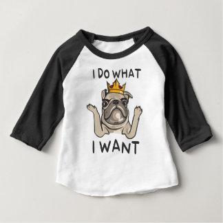 PUG KING Villi Baby T-Shirt