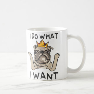 PUG KING Villi Coffee Mug