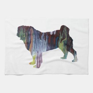 Pug Kitchen Towel