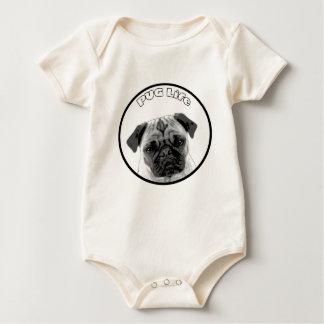 Pug Life 2 Baby Bodysuit