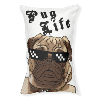 Pug Life - All Over Print / Dog Bed