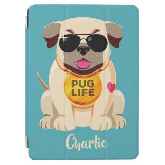 Pug Life custom name & color device covers iPad Air Cover