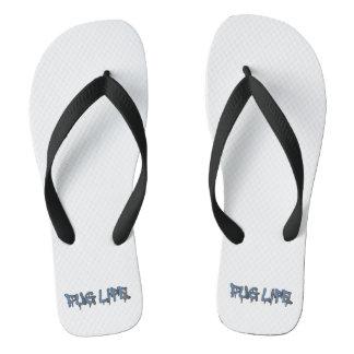 Pug Life Flip Flops