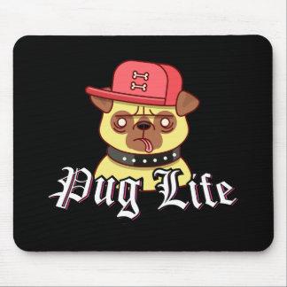 Pug Life Funny Pug Dog Mouse Pad