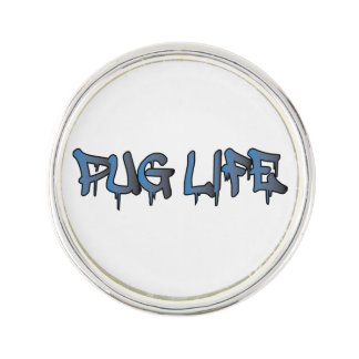 Pug Life Lapel Pin
